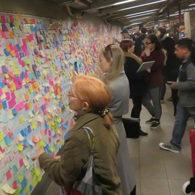画像: ニューヨークの地下鉄。