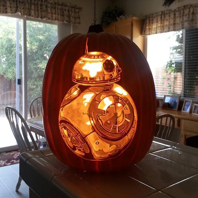 画像5: クオリティが高すぎる!ハロウィンの必需品であるかぼちゃの置物がすごいことに