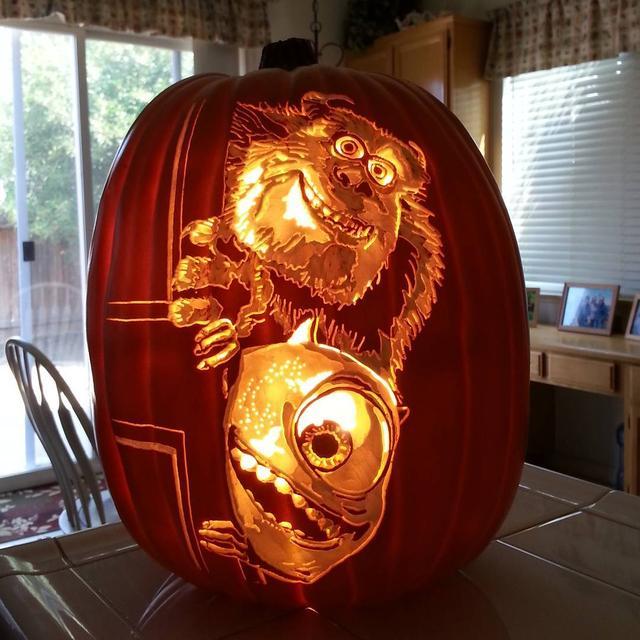 画像4: クオリティが高すぎる!ハロウィンの必需品であるかぼちゃの置物がすごいことに