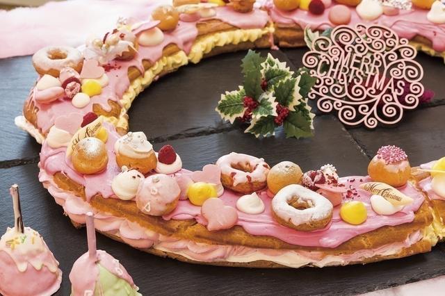 画像2: ピンク・クリスマス・スイーツ メニュー例