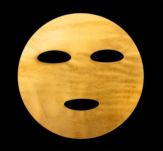 """画像2: セレブもハマる金箔マスクを、日本・金沢の伝統工芸""""加賀金箔""""で"""