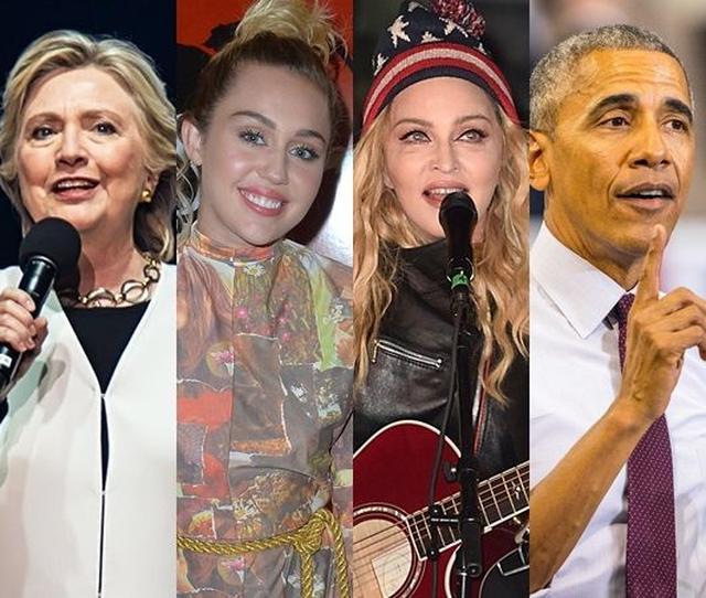 画像: 5位 大統領選から一夜明け、マドンナ、マイリー、オバマ大統領などさらにセレブが発言