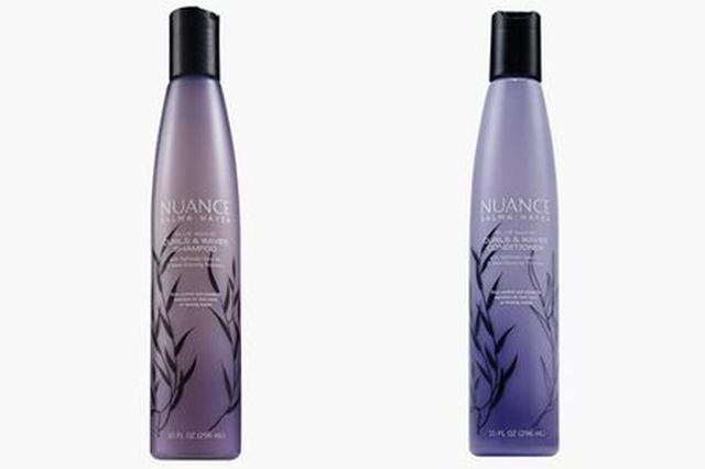 画像: Blue Agave Curls & Wavesシャンプー/コンディショナー