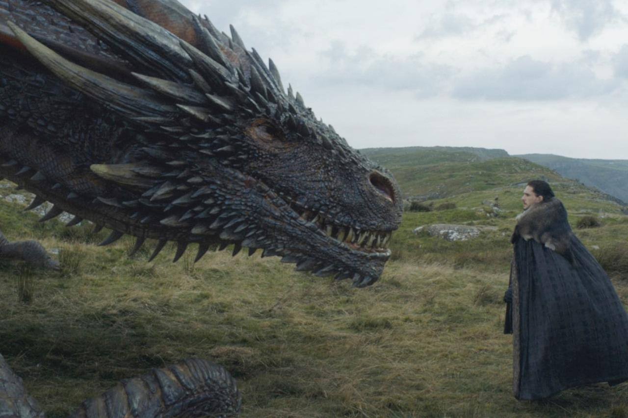画像2 『ゲーム・オブ・スローンズ』俳優、ドラゴンとの対面