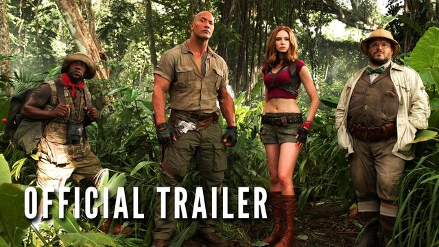 画像: JUMANJI: WELCOME TO THE JUNGLE - Official Trailer (HD) youtu.be