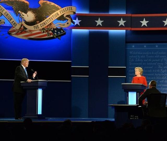画像: アメリカ大統領選のテレビ討論会に対するセレブたちの反応 - FRONTROW