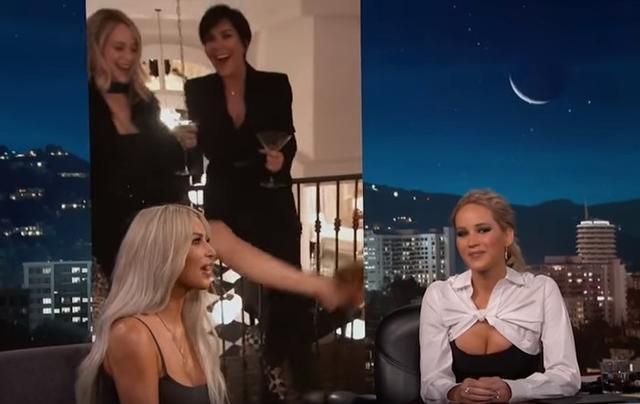 画像2: 女優ジェニファー・ローレンス、キム・K の自宅で素っ裸になった理由って?