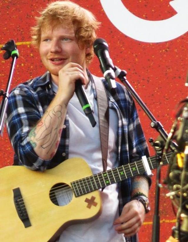 画像: エド・シーラン/ Ed Sheeran