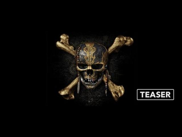 画像: Teaser Trailer: Pirates of the Caribbean: Dead Men Tell No Tales youtu.be