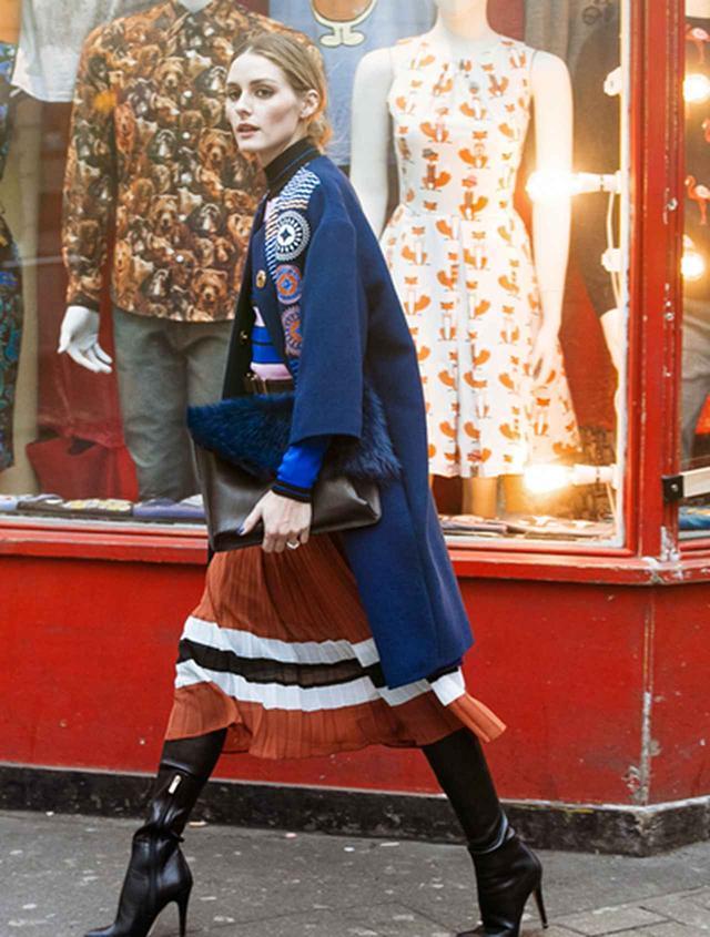 画像4: 寒くても着たい!秋冬のミディ丈スカートでも暖かく着こなす足元テク