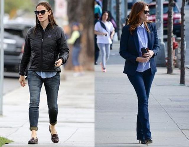 画像: セレブ界でも広く愛されているパタゴニア。(左)パタゴニアのジャケットを着る女優のジェニファー・ガーナー/(右)パタゴニアの店舗を訪れた女優のジュリア・ロバーツ
