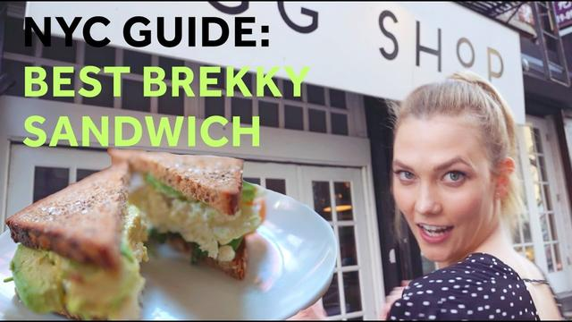 画像: How to Make the Best Breakfast Sandwich in NYC | Karlie Kloss www.youtube.com