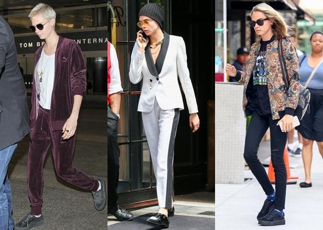カーラ・デルヴィーニュが「ジェンダーレス・ファッション」に