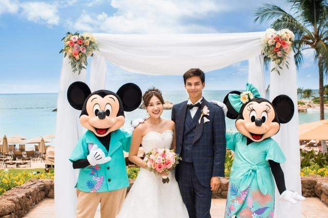 画像2: ミッキー、ミニー、スティッチが参列!ハワイで憧れのディズニー婚のキャラクターの衣装が一新