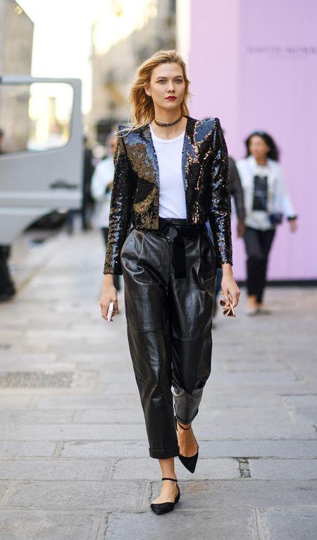 画像: 10月4日 モデルのカーリー・クロス @パリ お出かけ中