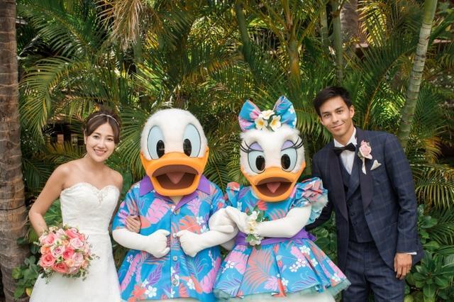 画像3: ミッキー、ミニー、スティッチが参列!ハワイで憧れのディズニー婚のキャラクターの衣装が一新