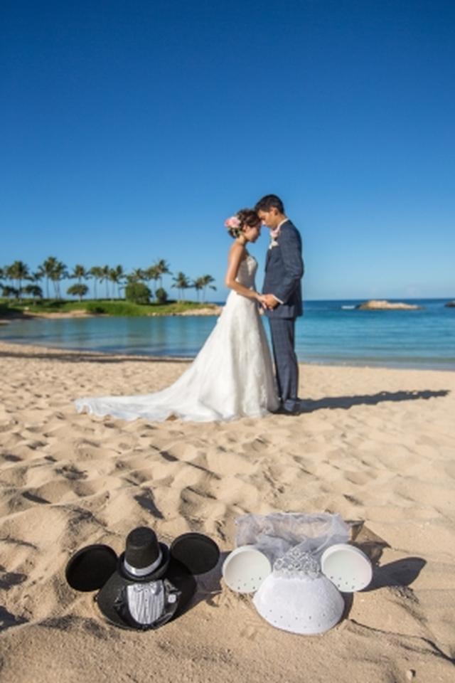 画像4: ミッキー、ミニー、スティッチが参列!ハワイで憧れのディズニー婚のキャラクターの衣装が一新