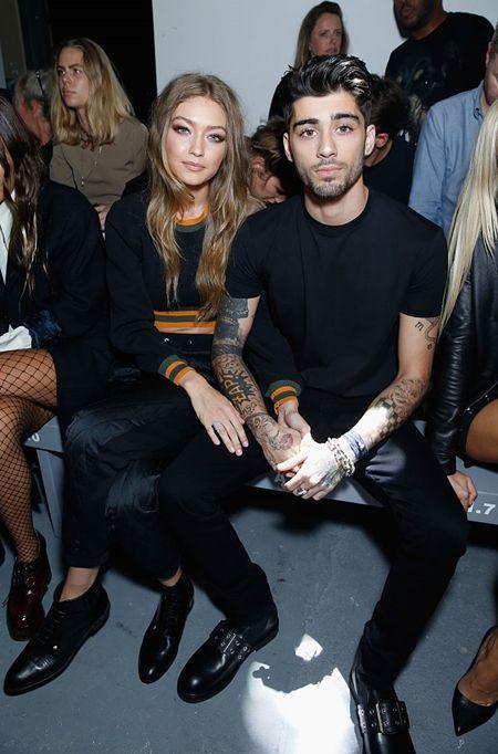 画像: 先月Versus Versaceのショーに、彼女のジジ・ハディッドと参加し、最前列でショーを観賞。