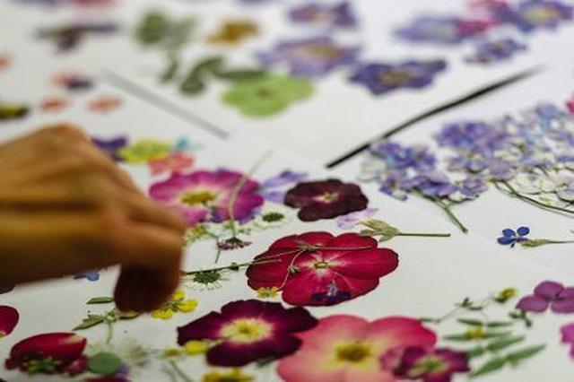 画像8: 日本でもおなじみの「押し花」を取り入れた最新メイクがランウェイに登場して話題に