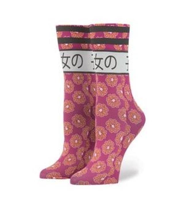 画像2: 「うるせえ」、芸者...、リアーナが日本風の靴下をデザイン