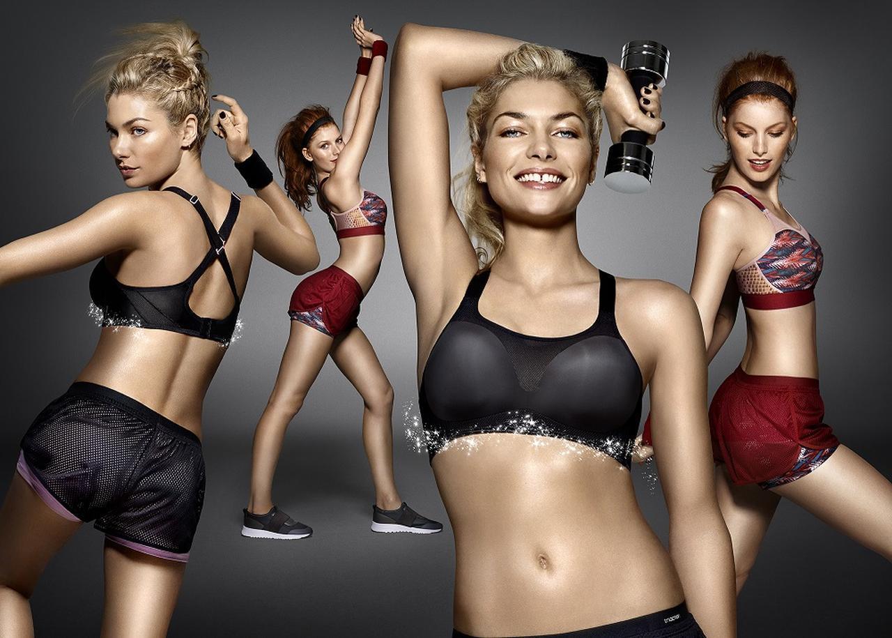画像1: 下着ブランドならでは!トリンプから「新発想スポーツブラジャー」の新作が発売