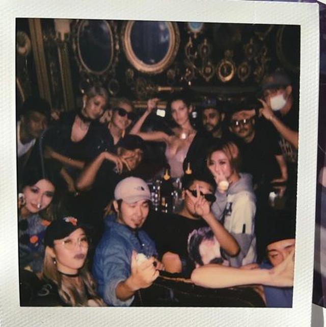 画像: 夜は渋谷のクラブTRUMP ROOMでパーティ。