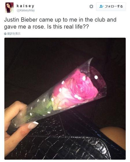 画像4: ジャスティン・ビーバーがファンにサプライズでバラをプレゼント