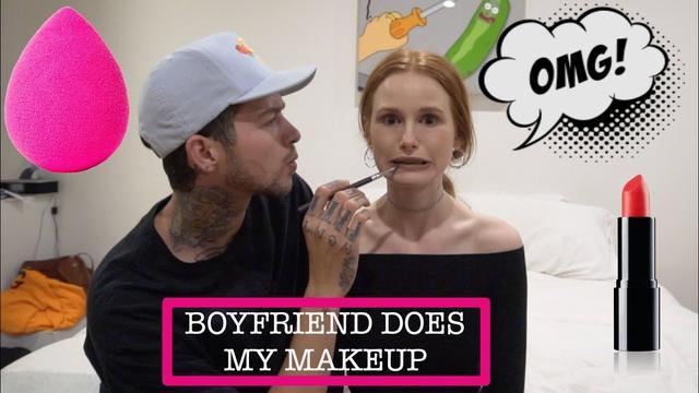 画像: BOYFRIEND DOES MY MAKEUP | Madelaine Petsch www.youtube.com
