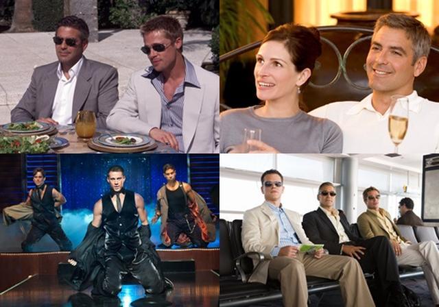 画像: (左から時計回り)『オーシャンズ11』/『オーシャンズ12』/『オーシャンズ13』© Warner Bros. Entertainment Inc.、『マジック・マイク』© 2012 The Estate of Redmond Barry LLC. All Rights Reserved.