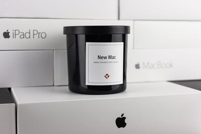 画像: 「新品のApple製コンピューターの香り」がするキャンドルが2時間で完売