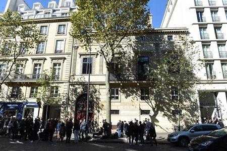 画像: 事件が起きたパリのホテル。