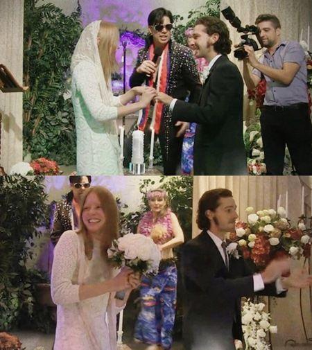 画像: 結婚式の様子。
