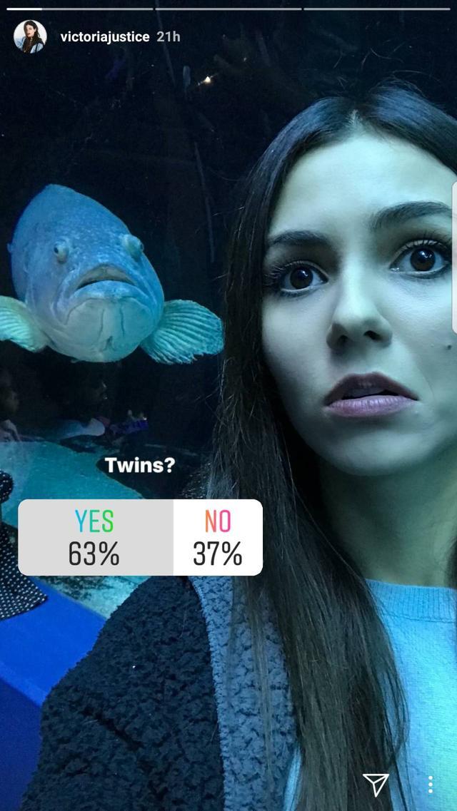 画像2: 人気女優ヴィクトリア・ジャスティス、水族館で撮った一枚が絶妙すぎる