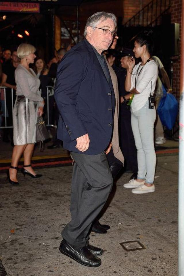 画像: ガガと同じNY出身のイタリア系アメリカ人で、過去にアカデミー賞を2度に渡って受賞している俳優のロバート・デ・ニーロも来場。