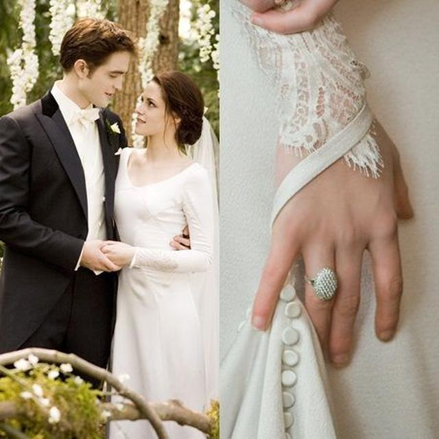 画像: 劇中でエドワードがベラに贈った婚約指輪の開始価格は15万円。