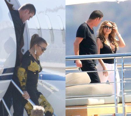 画像: 交際を初めてからプライベートジェットや豪華ヨットで世界中を旅していた2人。