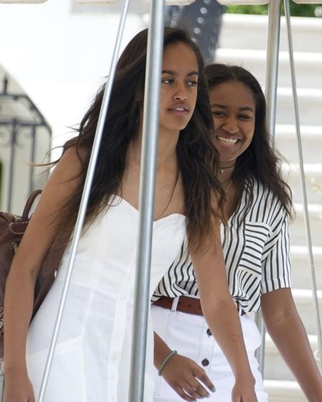 画像: 25 & 26 サシャ&マリア・オバマ(15&18)