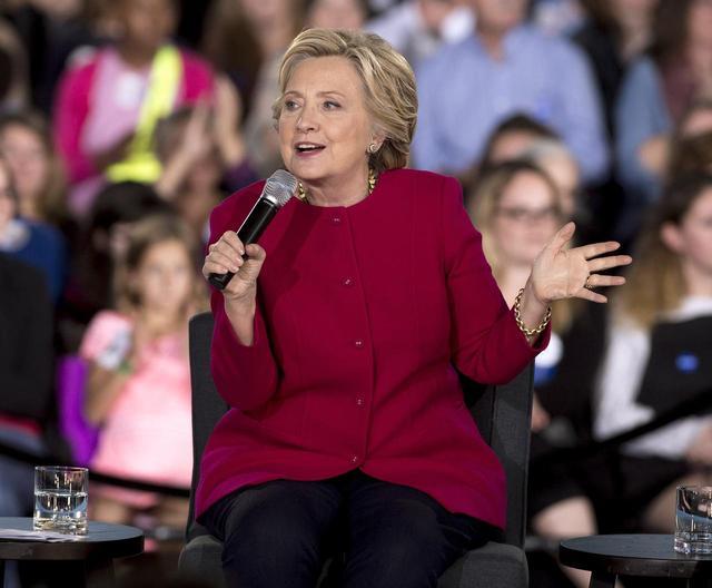 画像: ヒラリー・クリントン議員は「ファイト・ソング」を選挙キャンペーンソングに起用した。