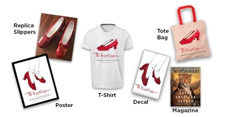 画像3: 『オズの魔法使い』でドロシーが履く「赤い靴」、修復費3,000万円を募集中!
