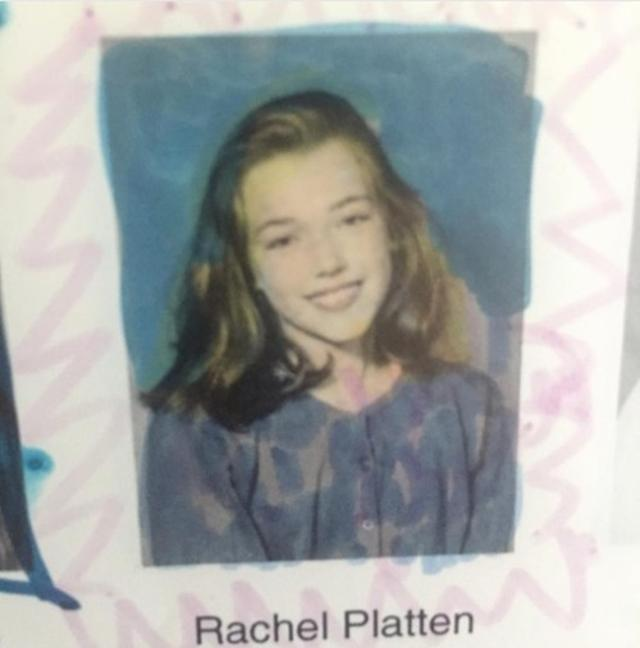 画像: 13歳当時のレイチェル。