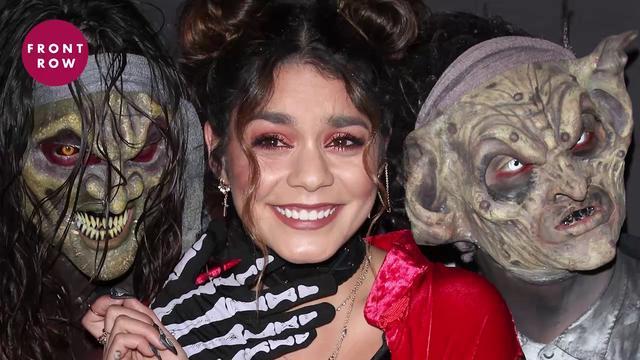 画像: ヴァネッサ・ハジェンズら、世界最大級ハロウィンイベントにセレブが集合 Celebrities Attend Knott's Scary Farm Opening Event youtu.be