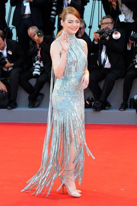 画像: 主演映画『ラ・ラ・ランド』をお披露目するために、映画祭に参加しているエマ。