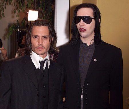 画像: 2001年、映画『フロム・ヘル』のプレミアにて