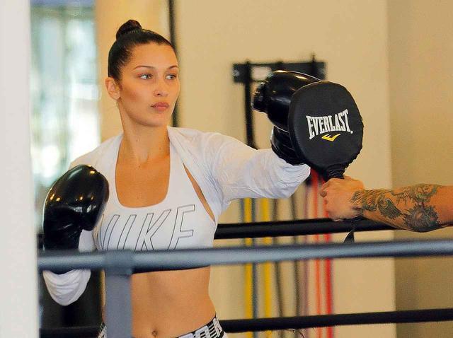 画像: ボクシングにどハマり