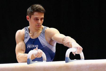 画像: クリス・ブルックス (体操) アメリカ 29歳