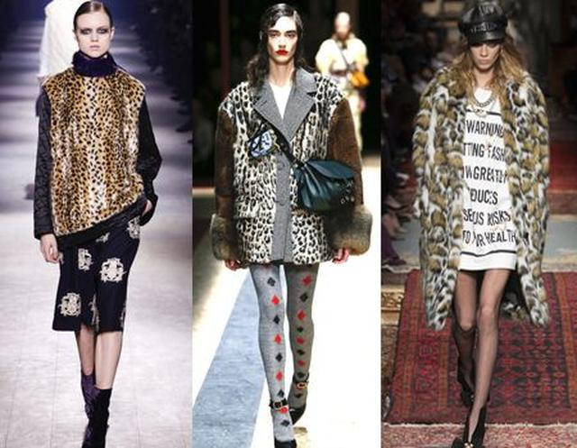 画像: 左から:Dries van Noten、Prada、Moschino