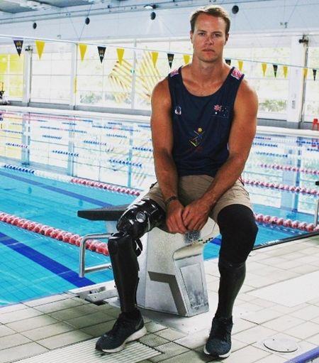 画像: カーティス・マクグラス(カヌー)オーストラリア28歳