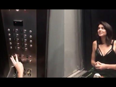 画像: Kylie & Kendall Jenner Stuck In Elevator | Firefighters Save the Day www.youtube.com