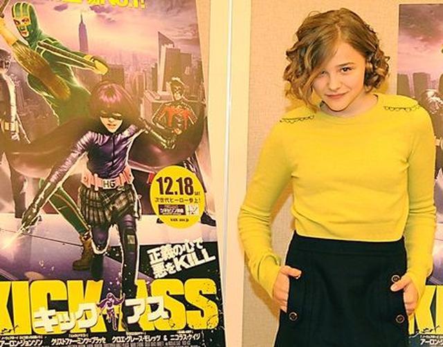 画像: 2010年に、『キック・アス』のプロモーションで来日した際のクロエ。