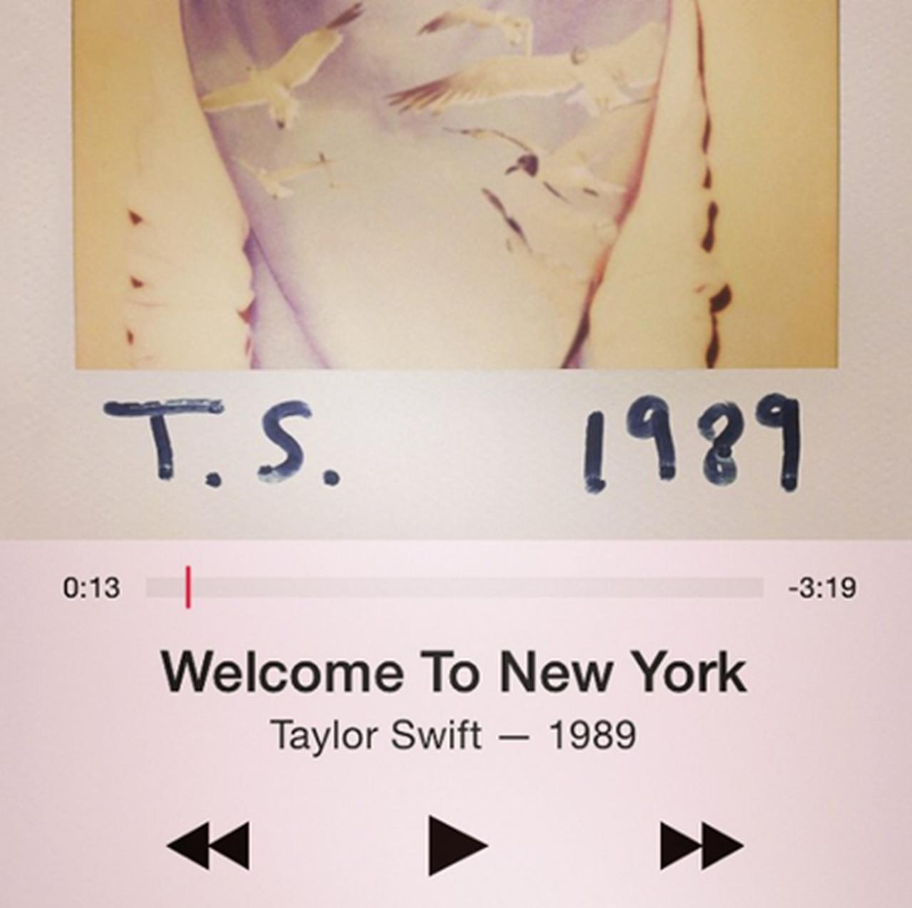 画像: シングル曲「ウェルカム・トゥ・ニューヨーク」